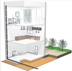 苏州写字楼卫生间同层排水系统工程安装,苏州建筑同层