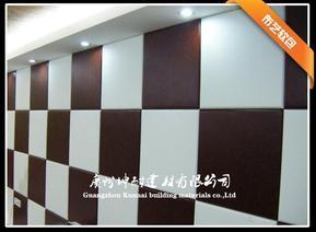 南京房间布艺隔音板/布艺吸音板/保龄球馆、语音室、排练厅、医院、图书馆装饰布艺软包