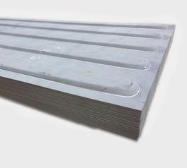 集装箱五浪圆头大顶板 瓦楞板