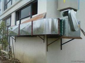 供应海淀室内厨房通风排烟系统制作,风机安装,排烟罩加工
