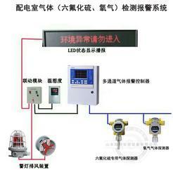 SF6气体浓度监测报警装置 门外显示屏