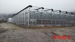 河南信阳智能温室大棚的性能指标-荣创温室大棚