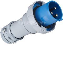 冷藏工业插头 220V防水插座 检修电源箱插座