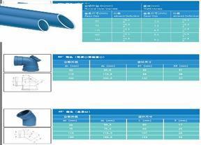 聚丙烯静音排水管行业标准主编单位、研发单位--北新建材