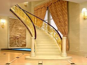 楼梯铜扶手,铜扶栏,铜栏杆