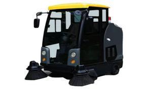 電動掃地車生產商-駕駛式電動掃地車-德力士