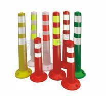 桂丰反光警示柱,警示分道柱,PVC柔性柱