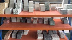 無機人造石-無機水磨石板-水磨石預制板-水磨石地板磚-花崗巖透水板