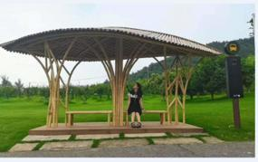 專業制作原竹建筑,異形竹藝建筑,竹鋼裝飾,竹棚搭架,竹藝花架,異形竹藝編制,定制風車,異形竹藝花架