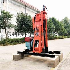 专业制造柴油液压水井钻机 探矿取芯设备 全液压工程建筑打孔机