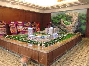 房地产模型沙盘学校工厂规划模型