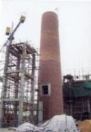 诸暨烟囱建筑公司|新砌锅炉房烟筒|砖烟囱新建|烟囱滑模