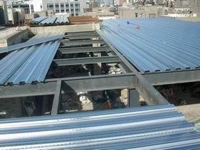 北京彩钢房搭建维修换彩钢板焊接钢架