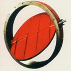 衬陶瓷圆风门