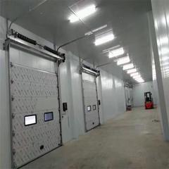 彩钢工业滑升门 电动滑升门厂家