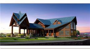 小木屋|木别墅|木屋设计