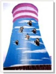 【专业】冷却塔粉刷涂料