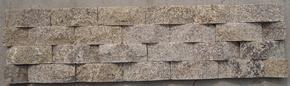 花岗岩虎皮黄石英文化石 FSSW129