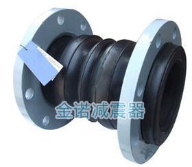 KST-F型可曲挠双球体橡胶接头_涿州市管道弹性托架减振器专卖