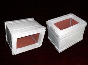 单面彩钢玻璃棉复合风管/铝箔酚醛复合风管板材