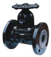 英标衬胶手动隔膜阀EG41J-10(原装进口衬胶隔膜阀)