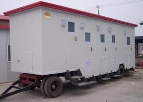 建筑工地临时移动厕所