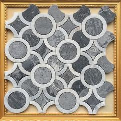 越南灰石材马赛克CHB044异形大理石