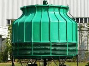 80吨圆形玻璃钢冷却塔