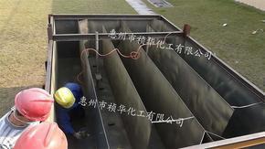 祯华耐磨涂料喷涂惠州水口设备做防护耐磨