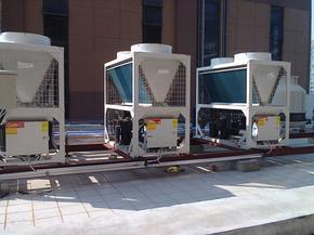 恒盛达牌空气源热泵热水机组 10HP