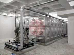不锈钢水箱  张夏供水 厂家直销