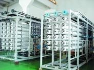 供应大型工业用100T/小时纯净水反渗透设备