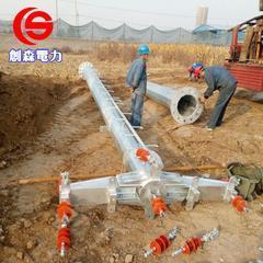 供电打桩机光伏打桩车定做电力钢杆钢桩基础