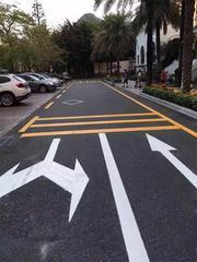 广州番禺车位划画线停车场划画线画车位热熔划画线施工队