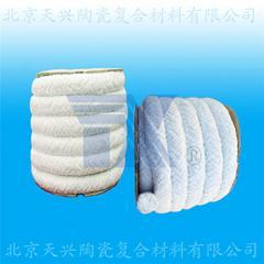 天兴 陶瓷纤维圆编绳 耐火盘根 陶纤绳 硅酸铝绳