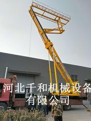 钢结构施工20米高空压瓦机升降平台生产厂