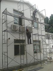 新型装修护墙pvc外墙挂板装饰材料塑料长条扣板户外快装别墅