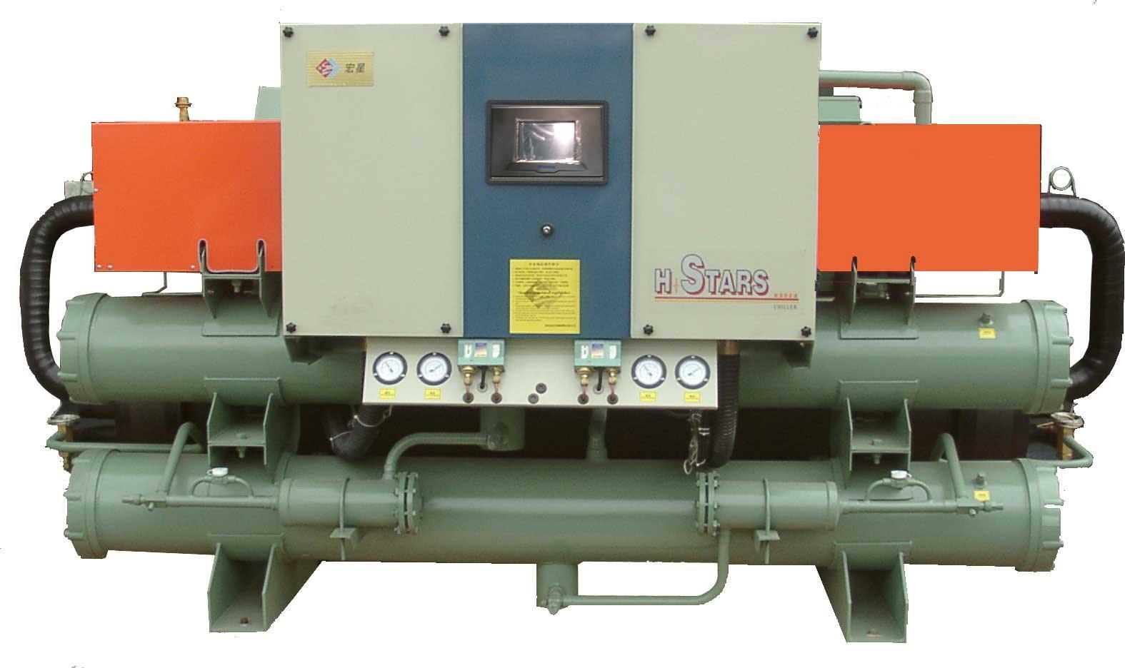 热回收冷水机组,低温螺杆冷水机组,工业冷冻设备