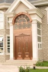 别墅铜门工程铜门旋转铜门