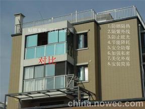 浙江酒店宾馆学校建筑玻璃贴膜