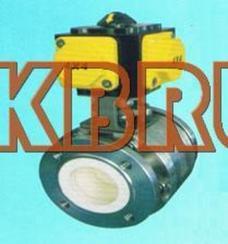 进口气动全衬陶瓷硬密封球阀-德国KBRL阀门上海办事处