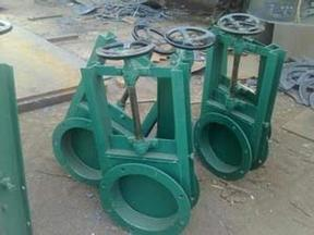 厂家批发圆口/方口手动插板阀 各种规格电动插板阀