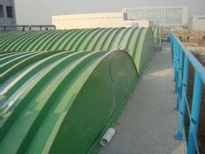 玻璃钢污水池除臭罩厂家