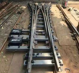 DX630-3-6渡线道岔厂家,矿用渡线道岔型号