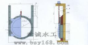 排水管道铸铁镶铜闸门厂家