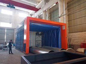 上海博兰德喷漆房致力于改善企业生产环境