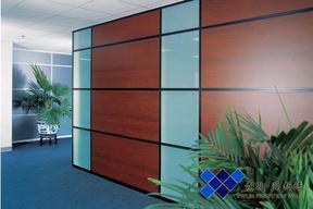 成都双层饰面板实体隔墙高隔间