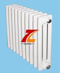 钢三柱散热器采暖高效 水流量大 防腐性强-泽臣