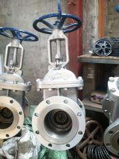 铸钢法兰闸阀 Z41H-150LB