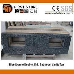蓝珍珠浴室台面双槽QD-VANITY 2013010